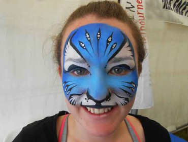 Blue-Tiger-adult-face-painting