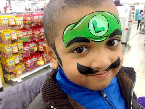 Face-Paint-KIDS_Luigi-boy