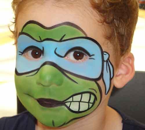 Face-Paint-KIDS_Ninja-Turtle-boy